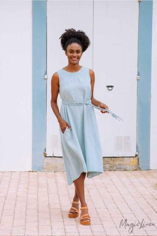 Breezy linen dress NIDA