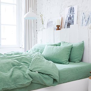 Matcha Green: Your New Favorite Bedding Color