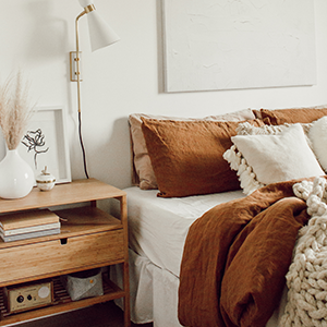 Linen styled your way and some serious 2020 #bedroomgoals