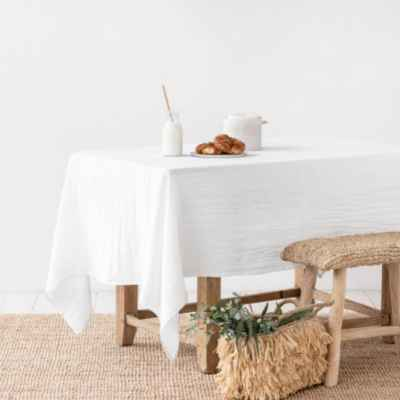 How to Get Red Wine Out of White Linen Tablecloth?